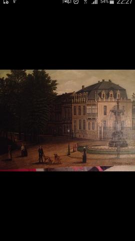 kaiserplatz Aachen - (Kunst, Gemälde)