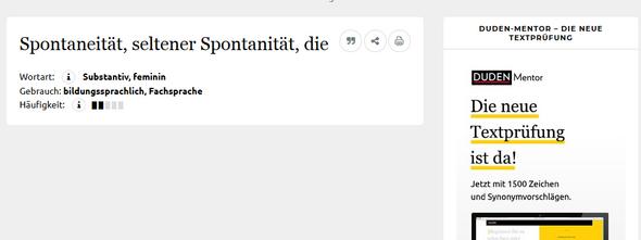 Ist Das Im Duden Tatsächlich Kein Schreibfehler Deutsch