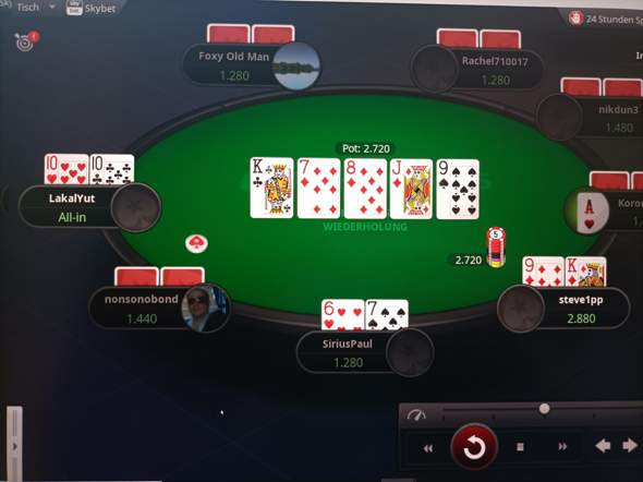 Ist das keine Straße (Poker)?