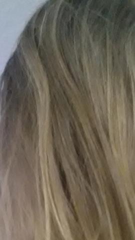 das sind meine haare - (Haare, blond, normal)