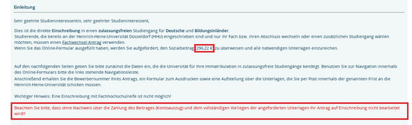 schule studium bewerbung - Dusseldorf Uni Bewerbung