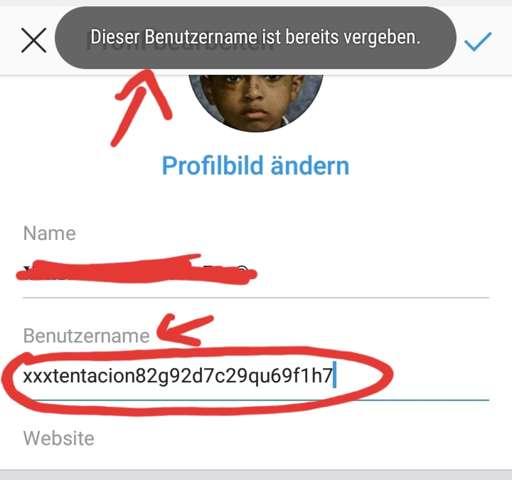 Ist das normal? Sogar solche Nutzernamen bei Instagram wurden vergeben? (Siehe Bild)?