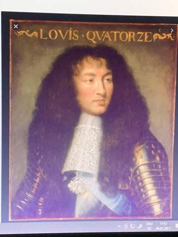 Ist das Portrait von Ludwig XIV ein Unikat?
