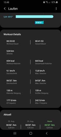 Ist das realistisch das man beim 5km joggen 654 kcal verbrennt?
