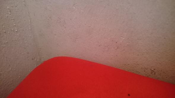 Ist das schimmel an der wand neben dem bett krankheit schimmelpilz schimmelbildung - Schimmel wand essig ...