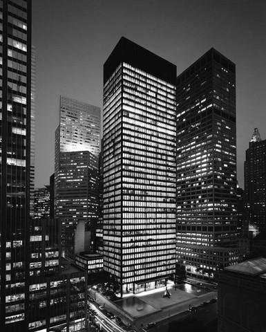 So sieht das Seagram Building aus - (Architektur, Chicago, Bauhaus)