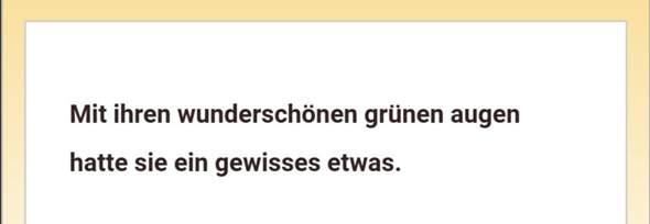 - (Deutsch, ja)