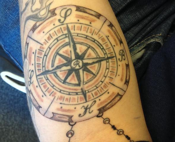 Kompass - (Tattoo, Qualitaet)