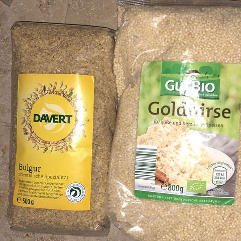 Goldhirse Bulgur - (Gesundheit und Medizin, essen, Ernährung)