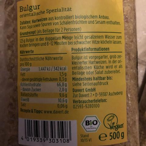 Bulgur - (Gesundheit und Medizin, essen, Ernährung)