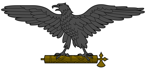 Adler der RSI mit Liktorenbündel (bitte wegdenken) - (Politik, Deutschland, Gesetz)