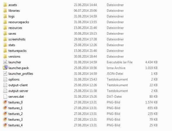 minecraft ordner - (Minecraft, bin-Ordner)