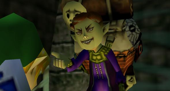 Sein wütender Blick. - (Nintendo, Link, Zelda)