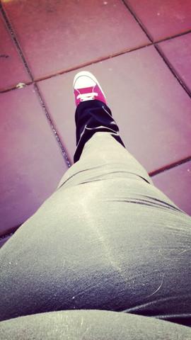 Bild - (Beine, übergewicht, Dick)