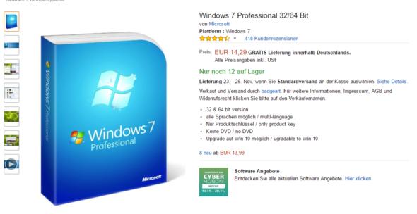 Windows von Amazon  - (PC, Games, Technik)