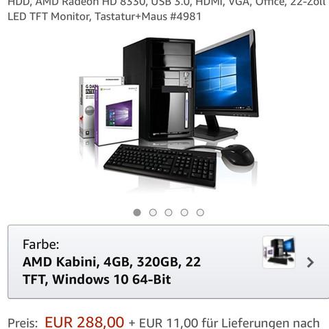 288€. - (Computer, Technik, Bildschirm)
