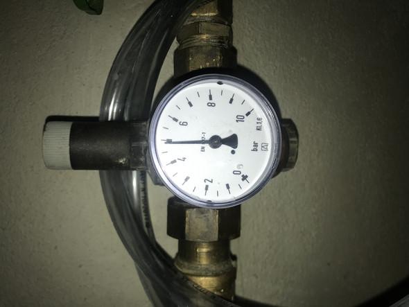 Ist der Wasserdruck hier hoch?
