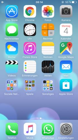 Und der Batteriestatus nachdem ich aufgewacht bin  - (iPhone, Apple)