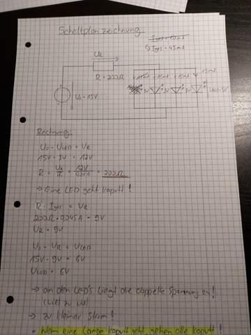 Ist die Berechnung und der daraus resultierende Aussagesatz richtig?