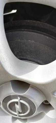 Ist die Bremse abgefahren siehe Bild?