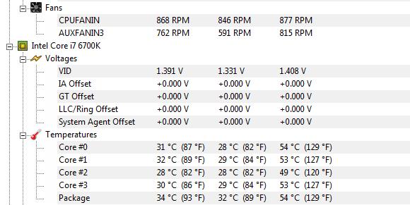 Nach dem Neustart - (Prozessor, cpu, Temperatur)
