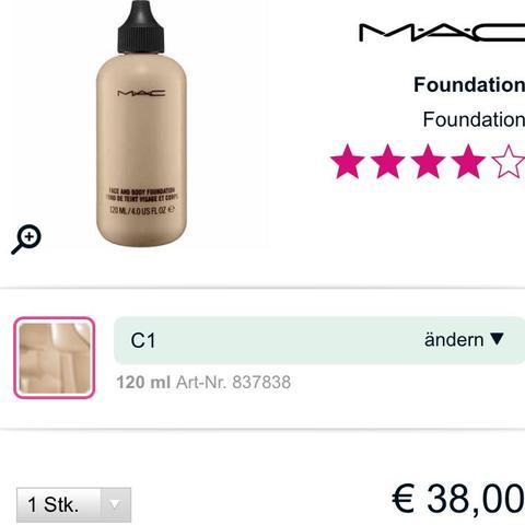 Mac C1 120ml - (Beauty, Mac, Gesicht)