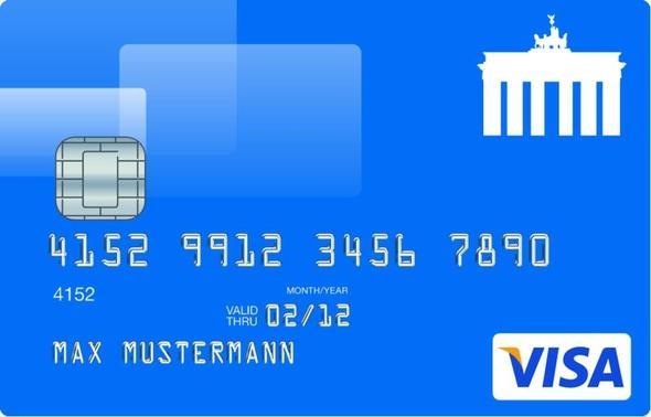 Fake It Biz Kreditkarte