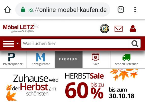 Ist Die Seite Online Moebel Kaufen De Serios Online Shop Webseite