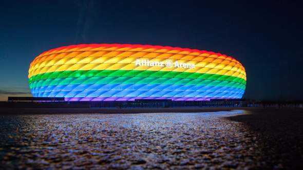Is the UEFA actually a homophobic club or what are the against colorful variety?