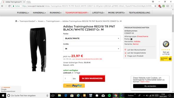 Ist dies eine Originale Adidas Hose? (Mode, Fußball, Original)