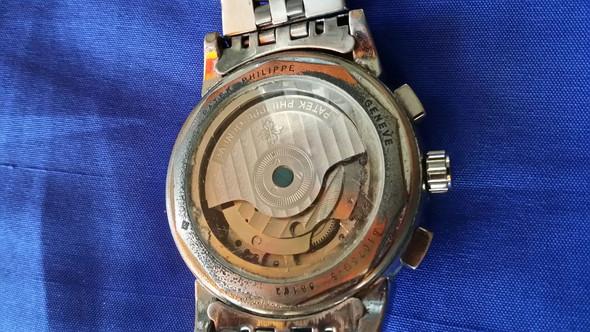 Rückseite  - (Uhr echt, Philippe Patek Geneve)