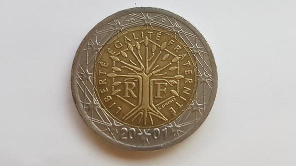 Ist Diese 2 Euro Münze Aus Dem Jahr 2001 Münzen Währung