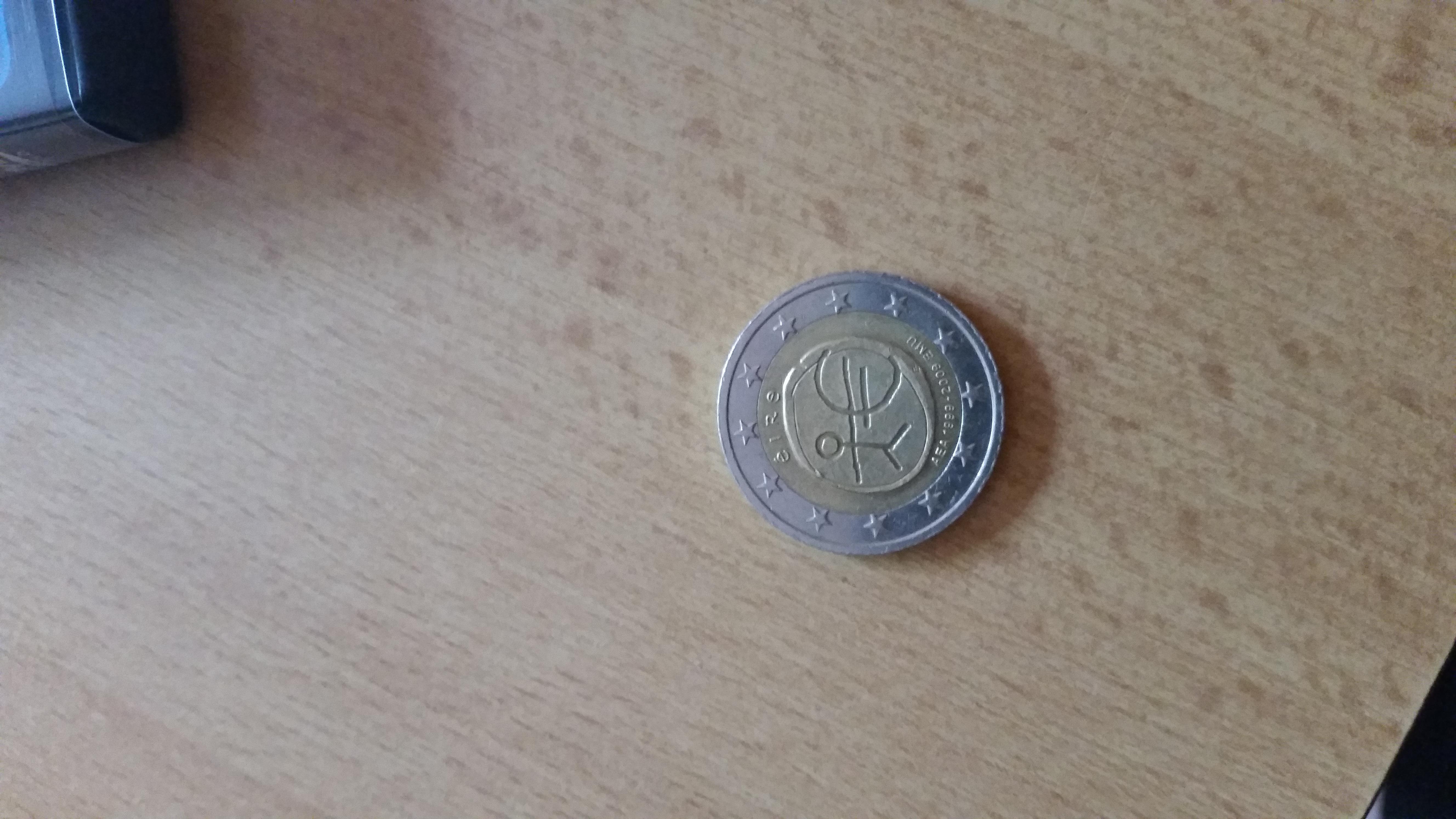 Ist Diese 2 Euro Münze Etwas Wert Oo Strichmännchen