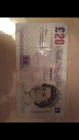 Ist Diese 20 Pfundnote Noch Gültig Siehe Bild Geld England