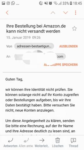 Fake Angebote Amazon Melden