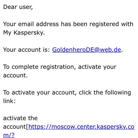 Bild von der Email - (Email, Fake)