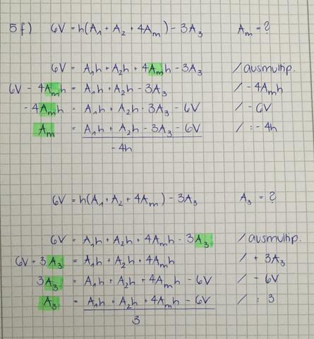Formel - (Mathematik, formel umstellen)