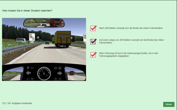 Diesen Lösungsweg verstehe ich nicht-- - (Auto, Führerschein, Prüfung)