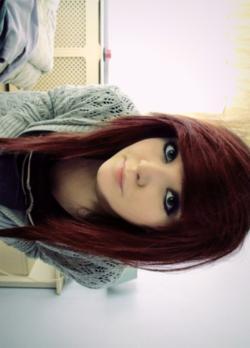 rot *_* - (Haare, Beauty, Aussehen)