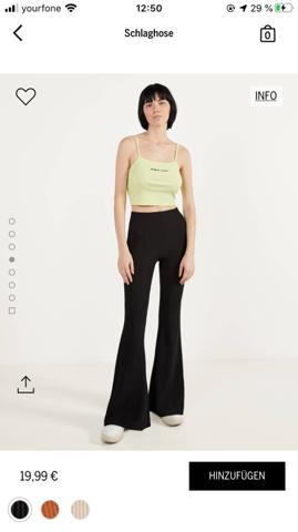 Ist diese Hose zu lang für mich?