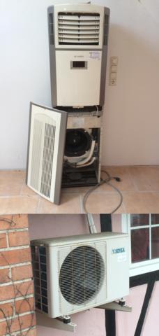 Bild der Klimaanlage - (Elektronik, Klima)