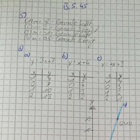 Hier die Aufgaben  - (Mathe, Funktion, Gleichungen)