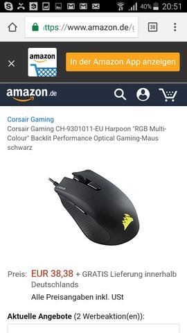 - (PC, Gaming, Maus)