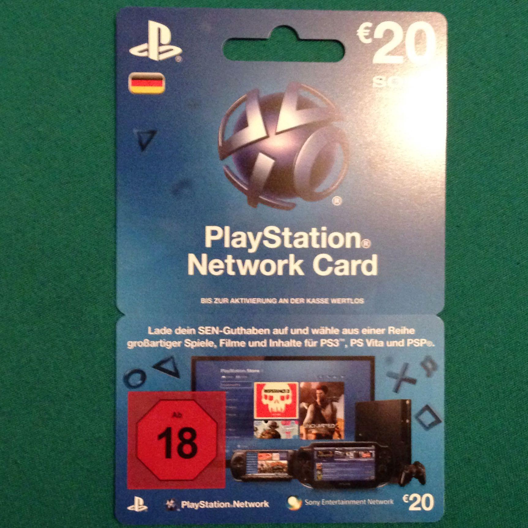 Ist Diese Psn Card Auch Fr Ps4 Freizeit Spiele Games Playstation Network 20