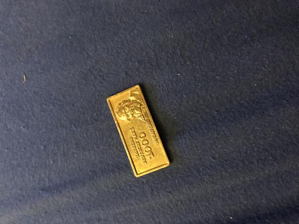 Ist Diese Rechteckige Münze 1000 Deutsche Mark Etwas Wert