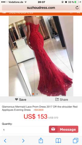Ist diese Seite Legal ? Und das Kleid echt? (Mode)