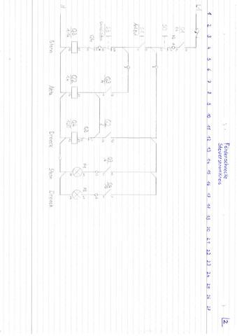 Steuerstromkreis - (Elektrik, Elektrotechnik, elektromotor)