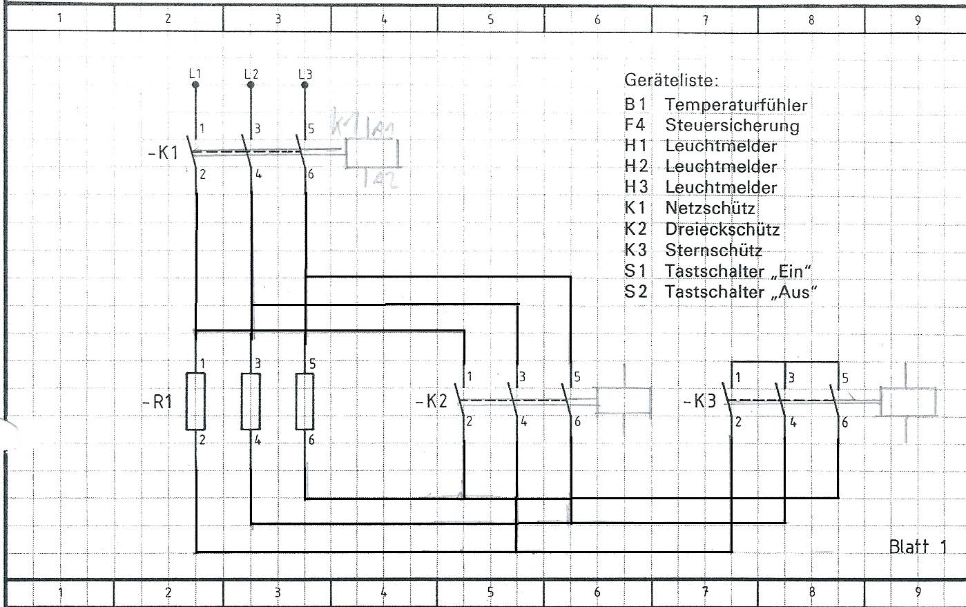 Wunderbar Stern Dreieck Starter Schaltplan Galerie - Elektrische ...