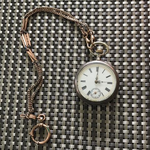 Ist diese Taschenuhr irgendwas wert?