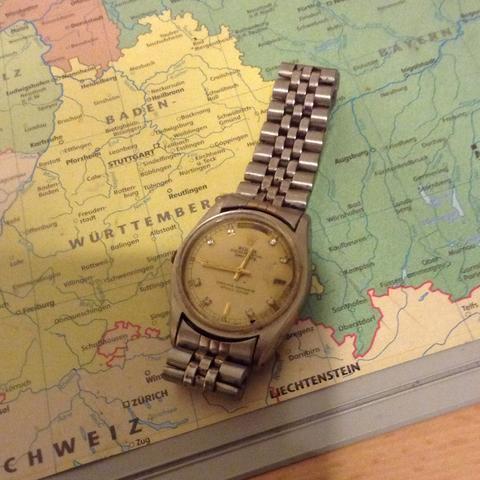Das ist das gute Stück  - (Uhr, echt, Rolex)